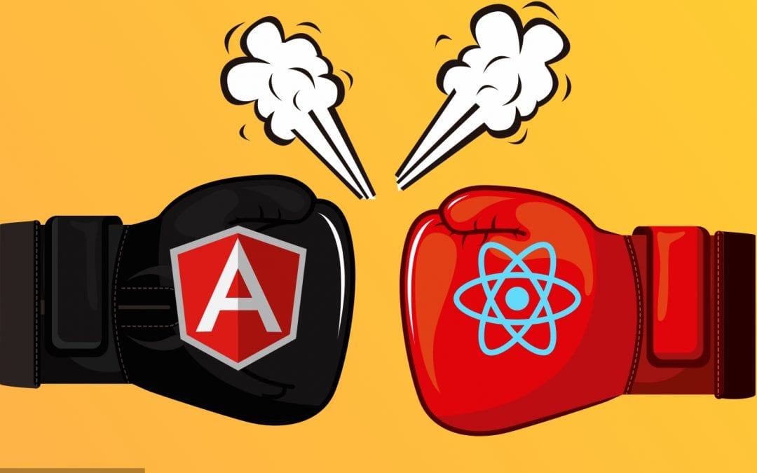 Angular vs. React: Which one is the preferred framework in 2020?